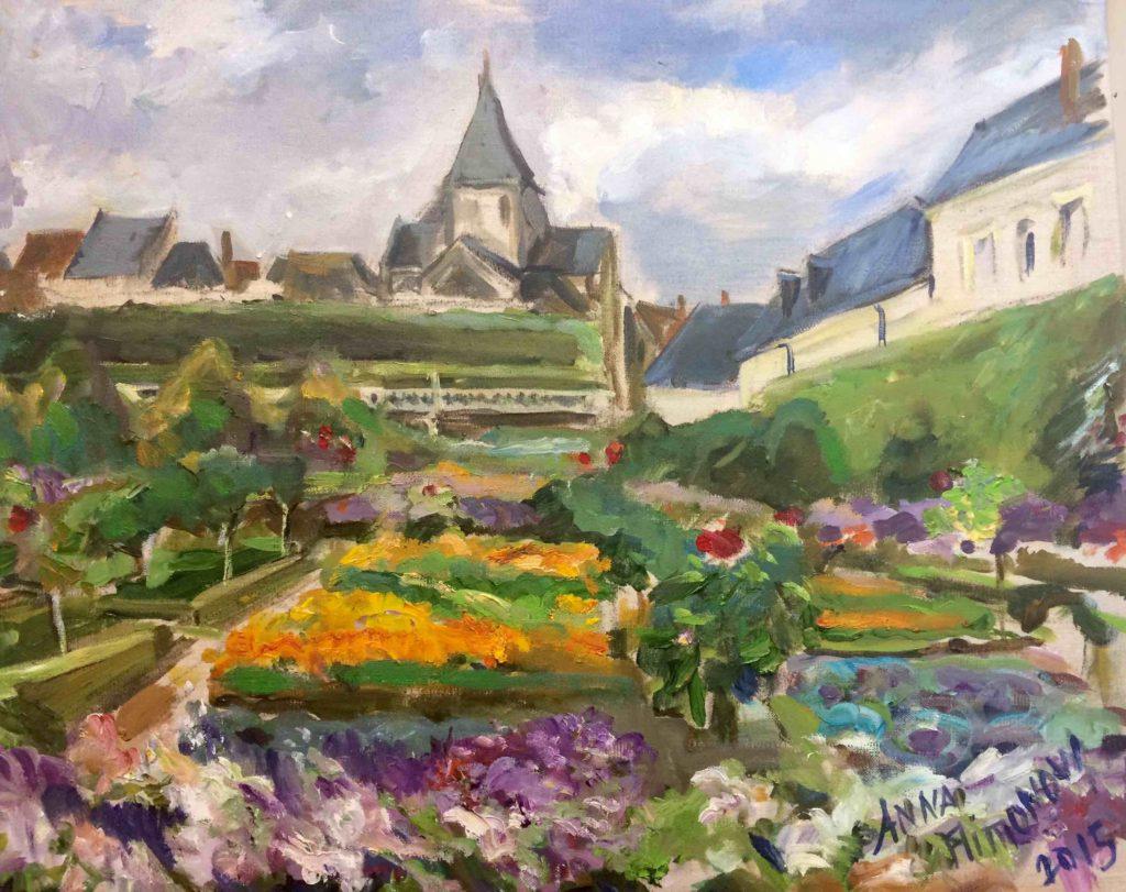 Jardins potager et eglise Filimonova BD