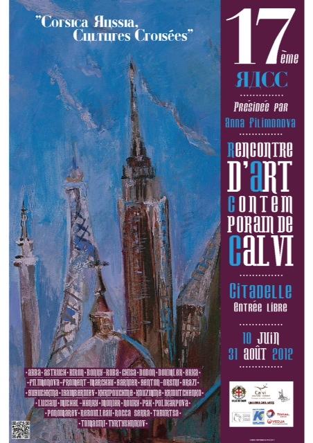 Affiche de l'exposition RACC à Calvi