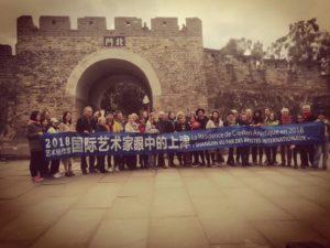 devant la forteresse de Shangjin