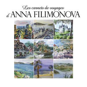"""couverture de la brochure """"Carnet des Voyages"""" Anna Filimonova"""